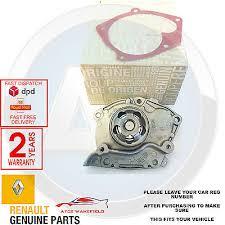 <b>Renault Clio</b> Megane <b>Laguna</b> Scenic Kango Genuine Water Pump ...