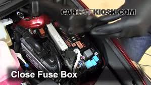 replace a fuse lexus cth lexus cth l cyl 6 replace cover secure the cover and test component
