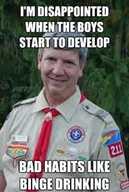 Harmless Scout Leader / Creepy Scoutmaster   Know Your Meme via Relatably.com