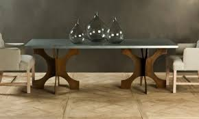 images zinc table top:  zinc top dining dining table images about dining table chairs rug on pinterest dining tables