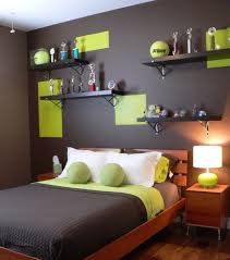 contemporary boys bedroom features an elegant color scheme view in gallery tennis ball green combined with chocolate makes a dashing color palatte boy bedroom ideas rooms