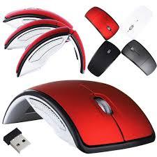 Arc <b>2.4G Wireless Folding</b> Mouse Cordless Mice USB Foldable ...