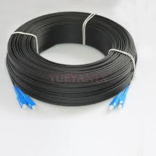 <b>500M Outdoor SC</b> SM Duplex <b>FTTH</b> Drop Patch Cord <b>SC</b> G657 ...