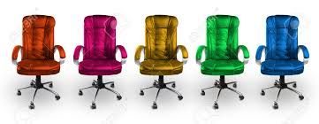 colorful office chairs red pink yellow green and blue stock photo amazing yellow office chair