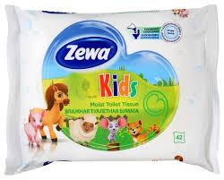 <b>Влажная туалетная бумага</b> Zewa Kids <b>Детская</b> — купить по ...