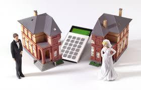 Image result for picture house splitting half divorce