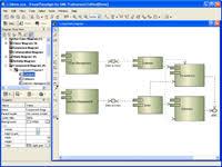 visio centre   visio uml diagramscomponent diagram  deployment diagram in vp uml