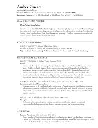 resume in merchandising in retail s retail lewesmr sample resume resume store of retail merchandiser