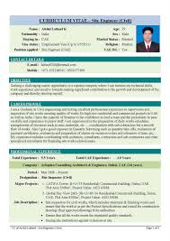 professional cv of civil engineer   how to do write a good resumeprofessional cv of civil engineer civil engineering resume sample resume genius civil engineer cv civil site