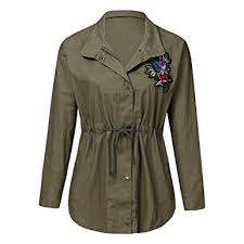 Women Plus Size Vintage <b>Embroidery</b> Coat, Ladies Long Sleeve ...