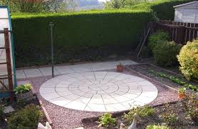 patio slab sets: ft york stone rotunda circle patio paving slabs free del note exceptions