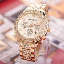 Female Clocks Women <b>Luxury Rose Gold</b> reviews – Online ...