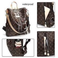 Olyphy Designer <b>Leather Backpack</b> Purse for Women, <b>Fashion PU</b> ...