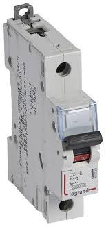 <b>Автоматический выключатель Legrand DX3-E</b> 1P (С) 6kA ...