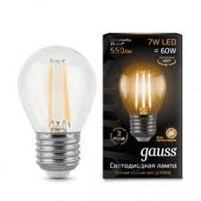 Светодиодная <b>лампа</b>-<b>шар Гаусс</b> SB645945