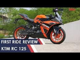 <b>KTM RC 125</b> First Ride Review   NDTV carandbike - YouTube