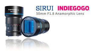 <b>Sirui</b> анонсировала анаморфотный <b>объектив</b> 50mm f/1.8 1.33x ...