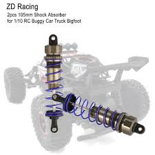 <b>ZD Racing</b> 2pcs 105mm Shock Absorber Suspension for <b>1/10</b> RC ...