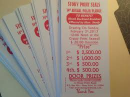polar plunge raffle tickets win up to 2500 stony point seals raffle make some money and help out this year s cause