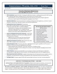 Sample CIO Resume from Executive Resume Writer  amp  IT Resume Writer for your CIO resume writing needs