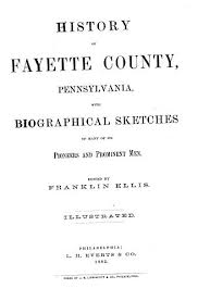 fayette county pennsylvania biographies