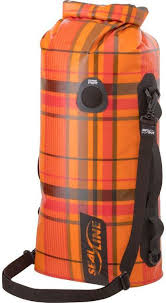 <b>Гермомешок Sealline Discovery</b> Deck Bag, 09678, оранжевый, 50 л