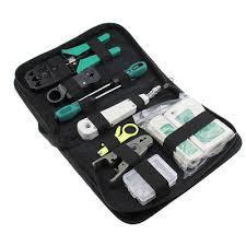<b>Portable LAN Network</b> Repair Tool Kit tester 11 pcs/<b>set</b> RJ45 RJ11 ...