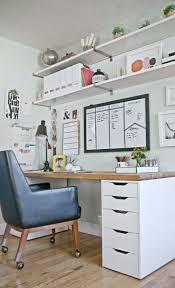 Freeman Theglitterguide Decor Desk Desk Diy Home Office Decor Storage Ideas For Office 2 Ikea   C