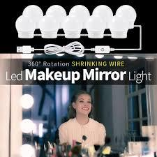 CanLing USB LED 12V Makeup Lamp 6 10 14 Bulbs Kit For ...