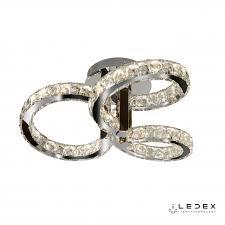<b>Потолочный светильник</b> iLedex <b>Crystal</b> Ice 16148/3 CR / iLedex.RU