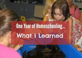 what i learned our first year of homeschooling