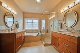 shower lighting ideas bathroom contemporary with beige wall circular mirrors bathroom lights mid century