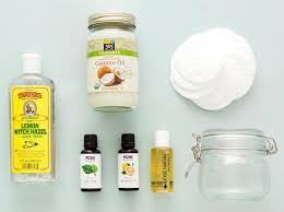 diy homemade makeup remover pads with natural ings for sensitive eyes
