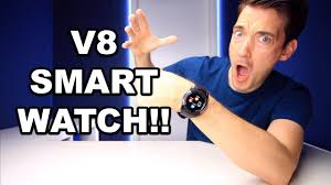 <b>V8</b> BUDGET <b>SMART</b> WATCH REVIEW - YouTube