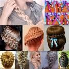 Пушистая коса плетение