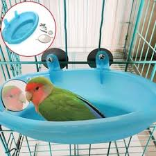 1 PC Pet Small Bird Cage Bath Basin Parrot Bath Basin ... - Vova