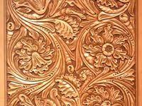Кожа: лучшие изображения (1330) | Кожа, Тиснение и Тисненая ...