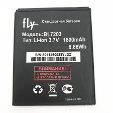 New <b>2000mah Bl7203 Battery For</b> Fly Iq4405 Iq4413 Iq 4405 4413 ...