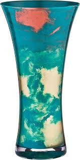 <b>Ваза Lefard</b>, 316-1411, <b>голубой</b>, высота 30 см