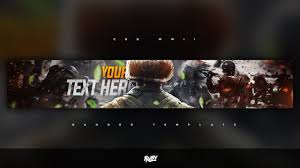 FREE GFX: Free Photoshop Banner Template: Call of Duty WWII ...