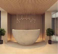 50 reception desks featuring interesting and intriguing designs chic front desk office interior design ideas