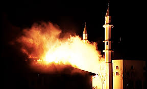 Image result for Texas Mosque Torched PHOTO