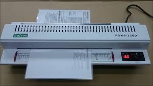 Пакетный ламинатор A3 <b>Bulros FGK6-320D</b> - YouTube