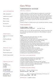 administrative assistant cv   hashdocadministrative assistant cv