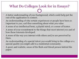 writing great college application essays that pop  community service and passions  what do colleges look for in essays