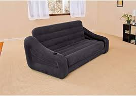 "<b>Intex Pull</b>-<b>Out Sofa</b> Inflatable Bed, 76"" X 87"" X 26"", Queen: Amazon ..."