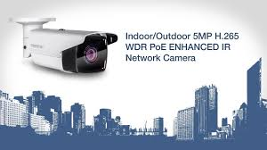 TRENDnet Indoor/<b>Outdoor 5MP</b> H.265 WDR <b>PoE</b> Enhanced IR ...