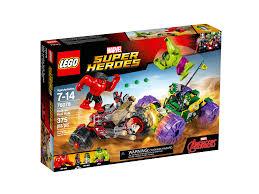<b>LEGO Marvel Super Heroes</b>™ Hulk vs. Red Hulk #<b>76078</b>