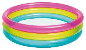 <b>Детский бассейн Intex Rainbow</b> Three Ring 57104 — купить по ...