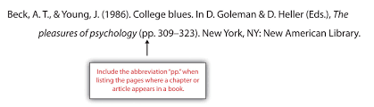 apa and mla documentation and formatting a work that appears in an anthology